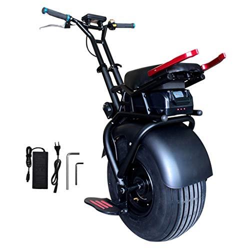 GJZhuan Elektro-Einrad Körper Sense Gleichgewicht Auto 18 Zoll Rad-Elektro-Einrad-Roller Mit 1000W Leistungsstarke 60V Lithium-Batterie 100kg MAX Ladegewicht Schnellster Geschwindigkeit 48km