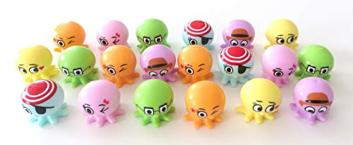 Edison Novelty Octopus Rubber Pencil Toppers (20)