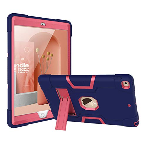Meifei iPad 8th Generation Case, iPad 7th Generation Case, iPad 10.2 2020/2019 Case, Slim Heavy Duty Hard PC Soft Silicone Shockproof Rugged High Impact Protective Case for iPad 10.2 inch 2020/2019