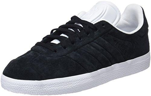 Adidas Gazelle Stitch + Turn, Zapatillas para Hombre, Negro (Core Black/Core Black/Footwear White 0), 39 1/3 EU