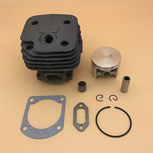 Juego de pistón de cilindro de alta calidad de 48mm 50mm 52MM para HUSQVARNA 61268272 272K 272XP piezas de motor de motosierra de gasolina 503758172 (Size : HUS272 52MM)