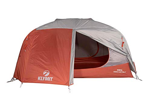 KLYMIT CROSS CANYON 2 Person Tent, Best Camping Gear for Family Camping, Backpacking, and Hiking