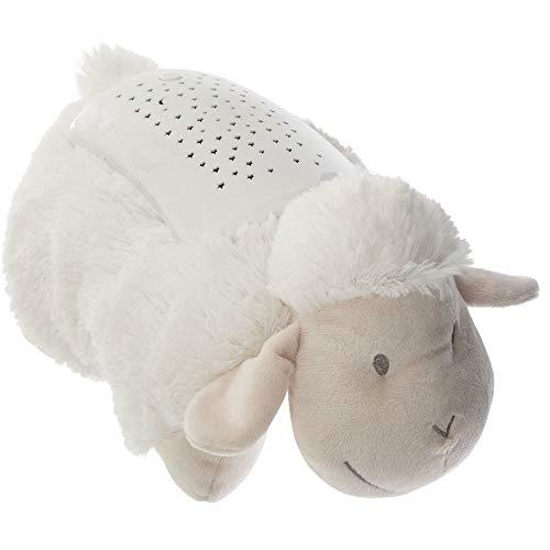 Kuscheltier-Leuchte Kopfkissen Kinder Lampe Sternenhimmel Nachtlicht (Schaf)