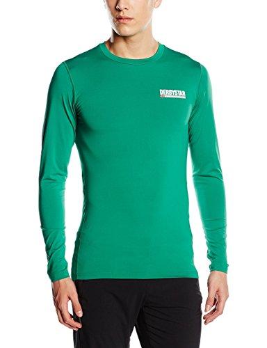 Derbystar T-Shirt à Manches Longues pour Homme Vert Vert s
