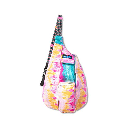KAVU Mini Rope Bag Cotton Sling-Surf Tie Dye