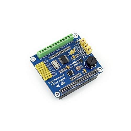 weichuang Electronic Accessories ADS1256 DAC8552 AD/DA Erweiterungsplatine für RPi Elektronikteile Elektronikzubehör
