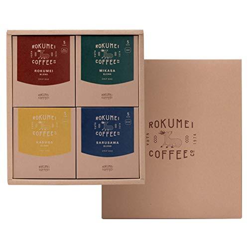 ROKUMEI COFFEE CO. ( ロクメイコーヒー ) コーヒーギフト ドリップバッグ [ 4種20pcs / 日常を豊かにするブレンド ] ドリップコーヒー ギフト ( 誕生日シール )