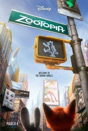 Zootopia – Disney - Film Poster Plakat Drucken Bild - 43.2 x 60.7cm Größe Grösse Filmplakat