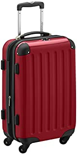 HAUPTSTADTKOFFER - Alex - Carry on luggage On-Board Suitcase Bag Hardside Spinner Trolley 4 Wheel Expandable, 55cm, red (B004MYLN8S) | Amazon price tracker / tracking, Amazon price history charts, Amazon price watches, Amazon price drop alerts