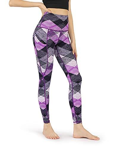 ODODOS Women's High Waisted Pattern Leggings with Pockets,...
