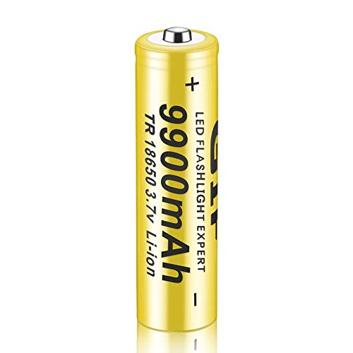 ghfcffdghrdshdfh 1 stuks 3,7 V 18650 9900 mAh Li-ion oplaadbare batterij voor LED zaklamp Torch
