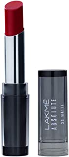 Lakme Absolute 3D matte lip color Lipstick, Maroon Magic, 3.6 gm