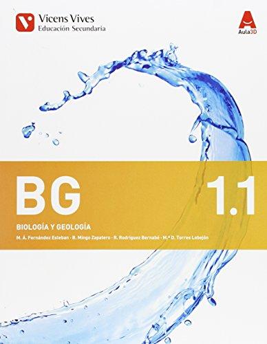Bg 1. Biología Y Geología. Libro 1, 2 Y 3. Aula 3D - 9788468230375