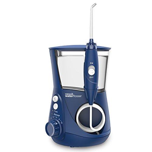 Waterpik WP-663 Water Flosser Electric Dental Countertop Professional Oral Irrigator For Teeth, Aquarius, Blue