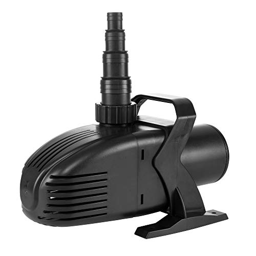PONDFORSE Submersible 2200GPH Water Pump with 33ft Power Cord 15FT HIgh Lift for Koi Ponds Waterfalls Fountains Hydroponics Statuary Fish Tank and Aquarium (2200GPH / 130W)