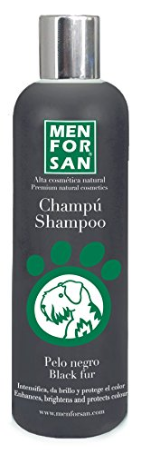 MENFORSAN Champú Perros Pelo Negro - 300 ml ✅
