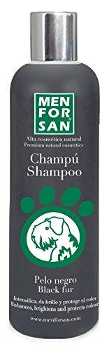 MENFORSAN champú para perros pelo negro bote 300 ml