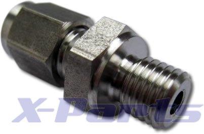 Klemmverschraubung Abgastemperatur 1,5mm Fühler Sonde Krümmer M8x1