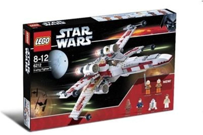 venta con alto descuento LEGO LEGO LEGO Bricks 6212 Estrella Wars - Caza Estelar X Wing con 6 Figuras (437 Piezas)  El nuevo outlet de marcas online.