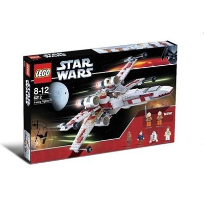 LEGO STAR WARS 6212 - X-Wing Fighter mit 6 Minifiguren, 437 Teile