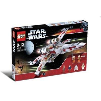 LEGO Bricks 6212 Star Wars - Caza Estelar X Wing con 6 Figuras (437 Piezas)
