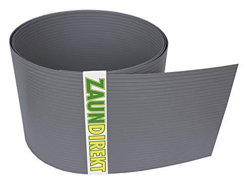 Lot de 10 bandes brise-vue en PVC rigide de qualité supérieure RAL 7030 Gris pierre coupe-vent (1,35 mm)