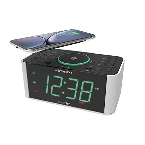 Emerson Alarm Clock Radio and QI Wireless...