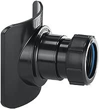 McAlpine BOSSCONN110 TBL Mechanical Soil Pipe Boss Connector - Black