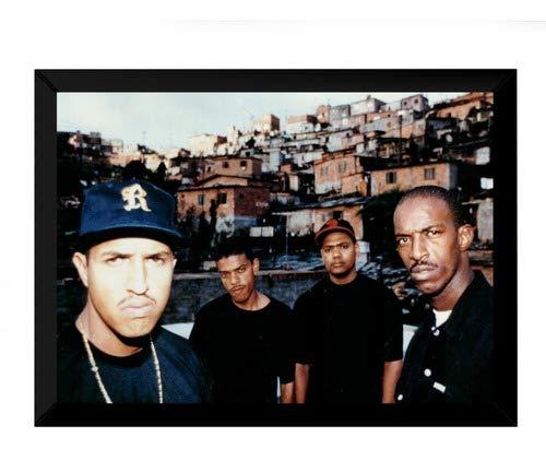Quadro Decorativo Hip Hop Rap Foto Colorida Racionais Mcs 42