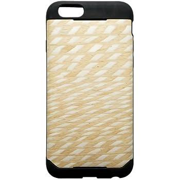 PlasticArts iClooly ウッドスキン iPhone6用ケース ダイアモンド WSK-606