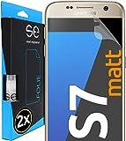 3D Pellicola opaca di protezione dello schermo per Samsung Galaxy S7 antiriflesso [2 pezzi | smart engineered]...