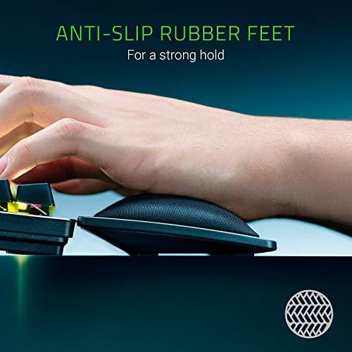 Razer Wrist Rest - Ergonomische Handballenauflage für Gaming Tastaturen im Full-Size-Format (Polsterung aus Memory-Schaumstoff, bezogen mit weichem Kunstleder) Schwarz