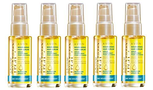 5x Avon Advance Techniques 360Ernährung, die Moroccan Argan Oil Leave-In Treatment