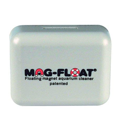 Algenmagnete 100490 Magnetische schwimmende Aquarium-Scheibenreiniger, Large