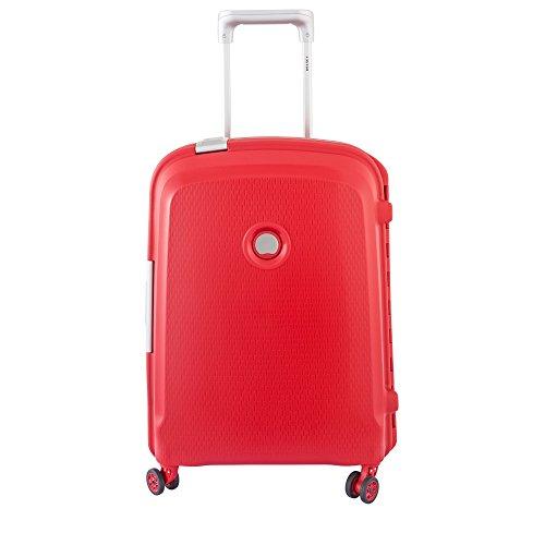 Delsey Paris Belfort Plus Maleta, Rojo (Rouge), 55 cm/44 liters