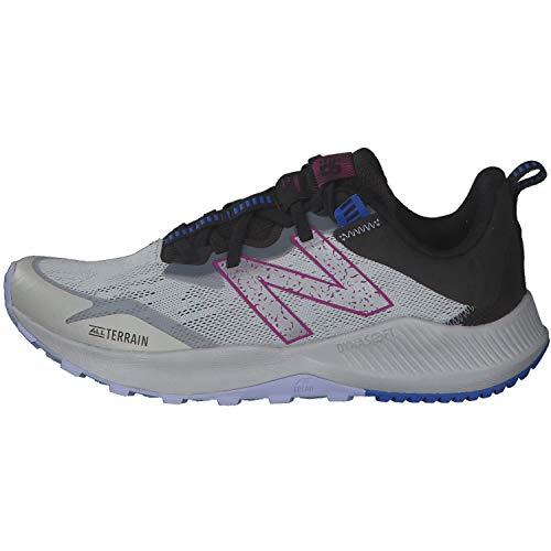 New Balance Nitrel v4 Trail, Zapatillas Mujer, Gris Aluminio Ligero, 36 EU