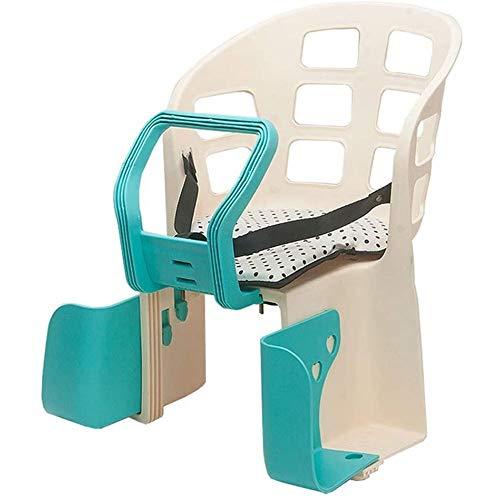 SONGTAO Fiets Baby Stoel Voor 2-5 Jaar Oude Kinderen Kinderveiligheid Carrier Seat Achterbank Kussen Met Terug Rust Voet Pedalen Fiets Kinderstoel