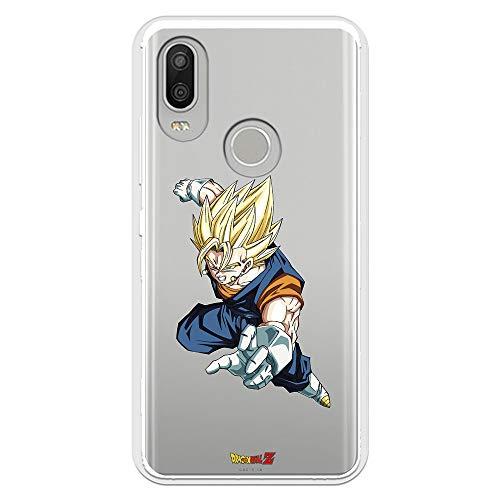 Funda para BQ Aquaris X2 Pro Oficial de Dragon Ball Vegeto Super Saiyan para Proteger tu móvil. Carcasa para BQ de Silicona Flexible con Licencia Oficial de Dragon Ball.