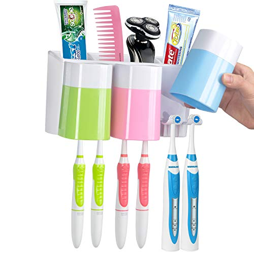 WARMLIFE Toothpaste Wall Mounted Electric Toothbrush (1)