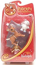 Rudolph the Red Nosed Reindeer Action Figure Reindeer Games with Misfit Doll and Misfit Elephant