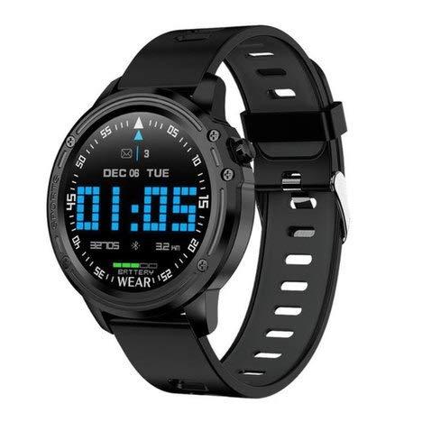 Relógio Smartwatch Masculino Touch Screen Smart Wear L8 Preto