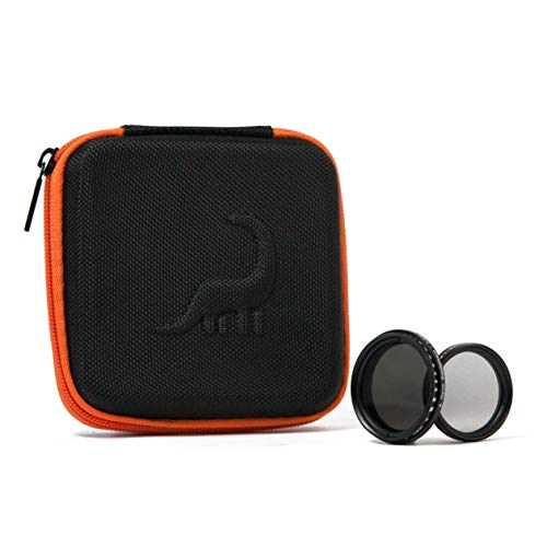 Dyno Filter Kit   2-400 Variable ND, Circular Polarizer   Includes Smartphone Mounting Clip and Travel Case