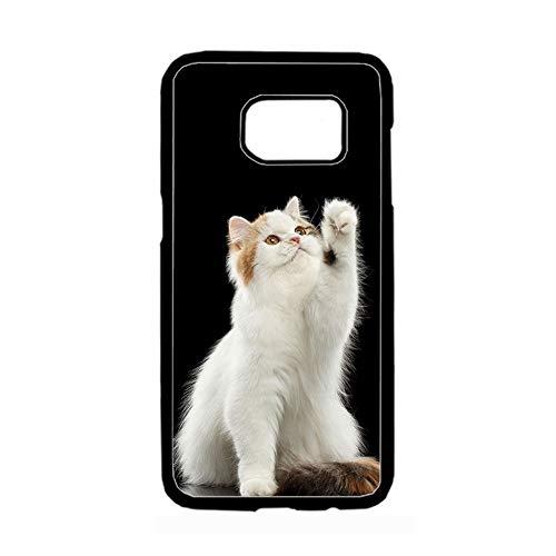 Use For Samsung S7 Original Women Printing Pet Cat 2 Rigid Plastic Cases Choose Design 86-2