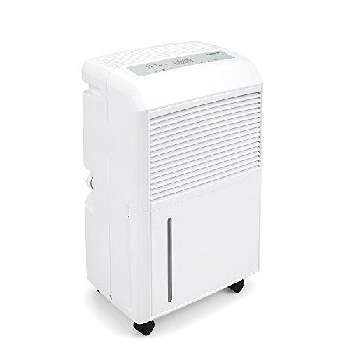TROTEC Deumidificatore TTK 90 E (deumidificazione di 30litri/24h) per ambienti fino a 90 m² incluso un Termoigrometro BZ06