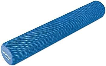 Tunturi Unisex's Yoga Massage Foam Roller-Blauw, 90 cm