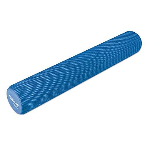 Tunturi Yoga Rodillo para Masaje, Adultos Unisex, Azul, 90 cm