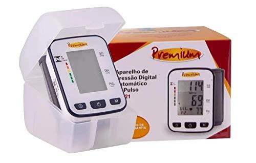 Aparelho Medidor de Pressão Automático de Braço, Premium