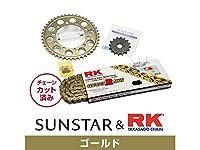 サンスター KR43303 スプロケット&チェーンキット(ゴールド) CBR600F4i