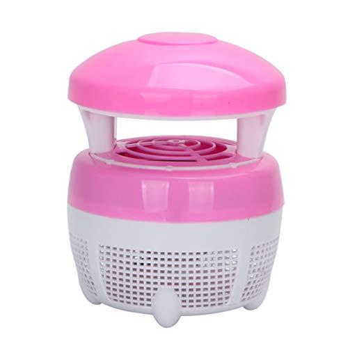 LIANGJING LED-Inhalation lila Licht Anti-Mückenlampe physikalische Mückenkontrolle,Pink