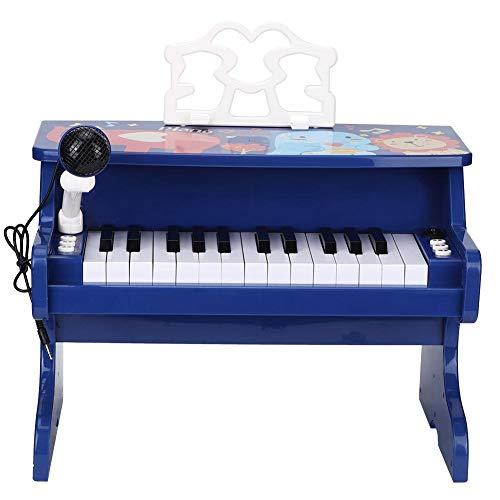Kinderpiano's en -toetsenborden, Mini-speelgoedpianotoetsenbord met microfoon, Pre-kleuterschoolspeelgoedsimulatie Muziekinstrument-speelgoed Peuter Vroeg onderwijs Piano-speelgoed Beste cadeau
